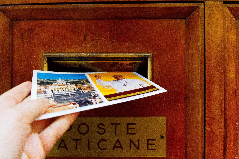 Vatican - week-end à Rome: Poste Vaticane