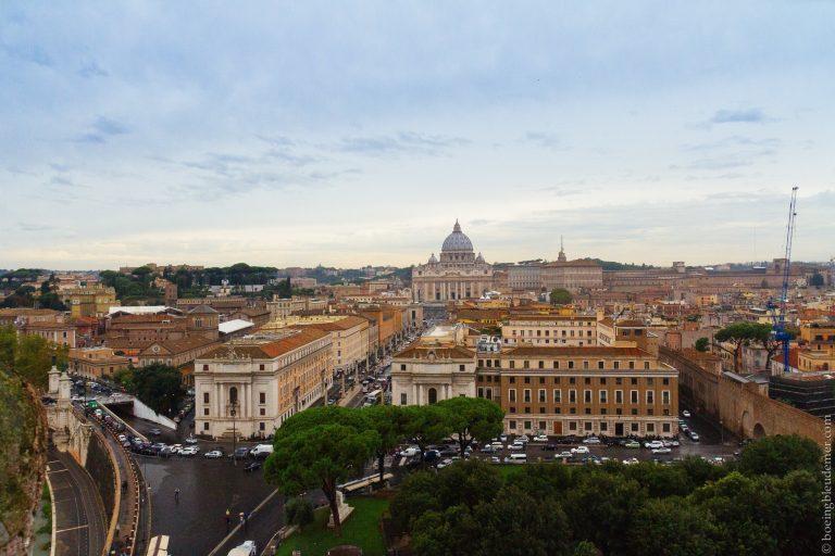Vatican - week-end à Rome: vue panoramique