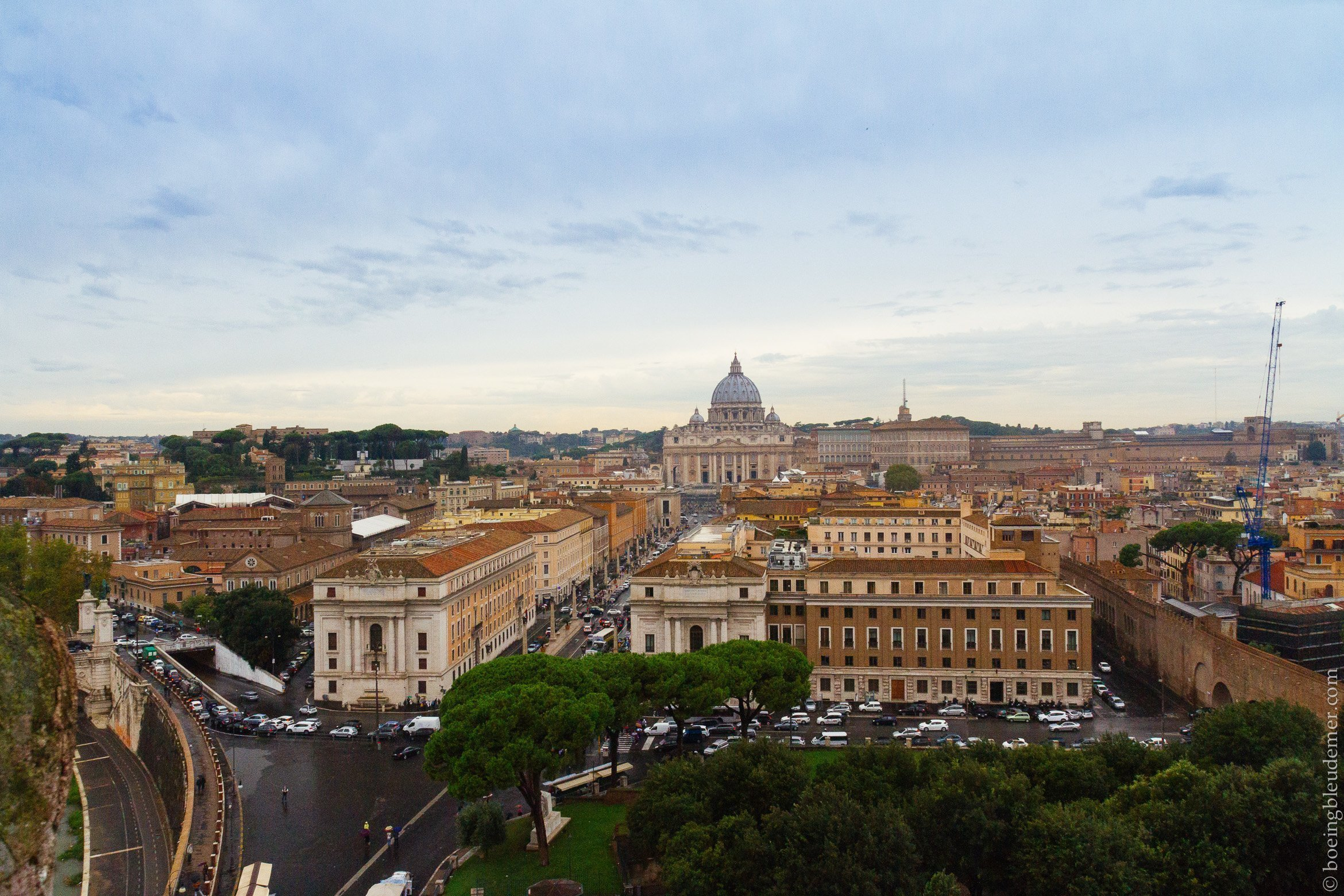 Vatican - week-end à Rome: vue panoramique
