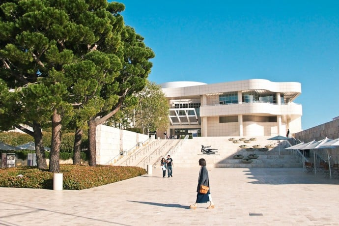 Le Musée Getty de Los Angeles