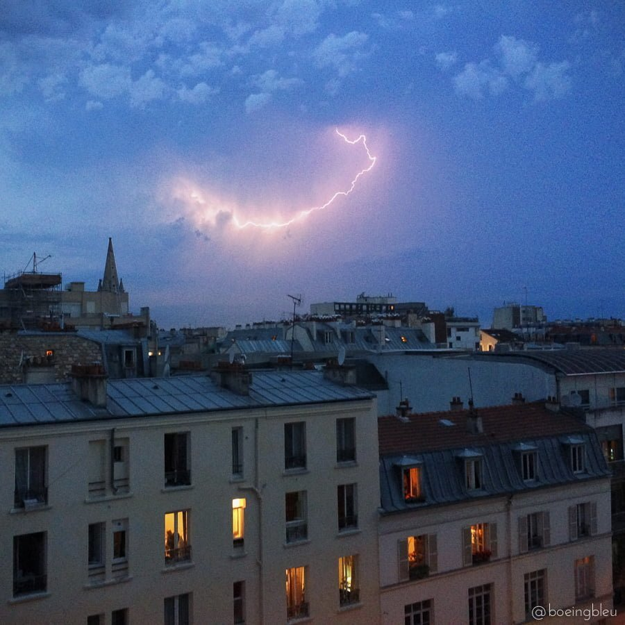 Orages-paris