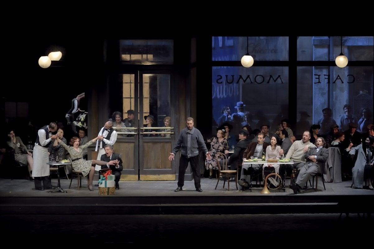 La Bohème - Scène au café Momus