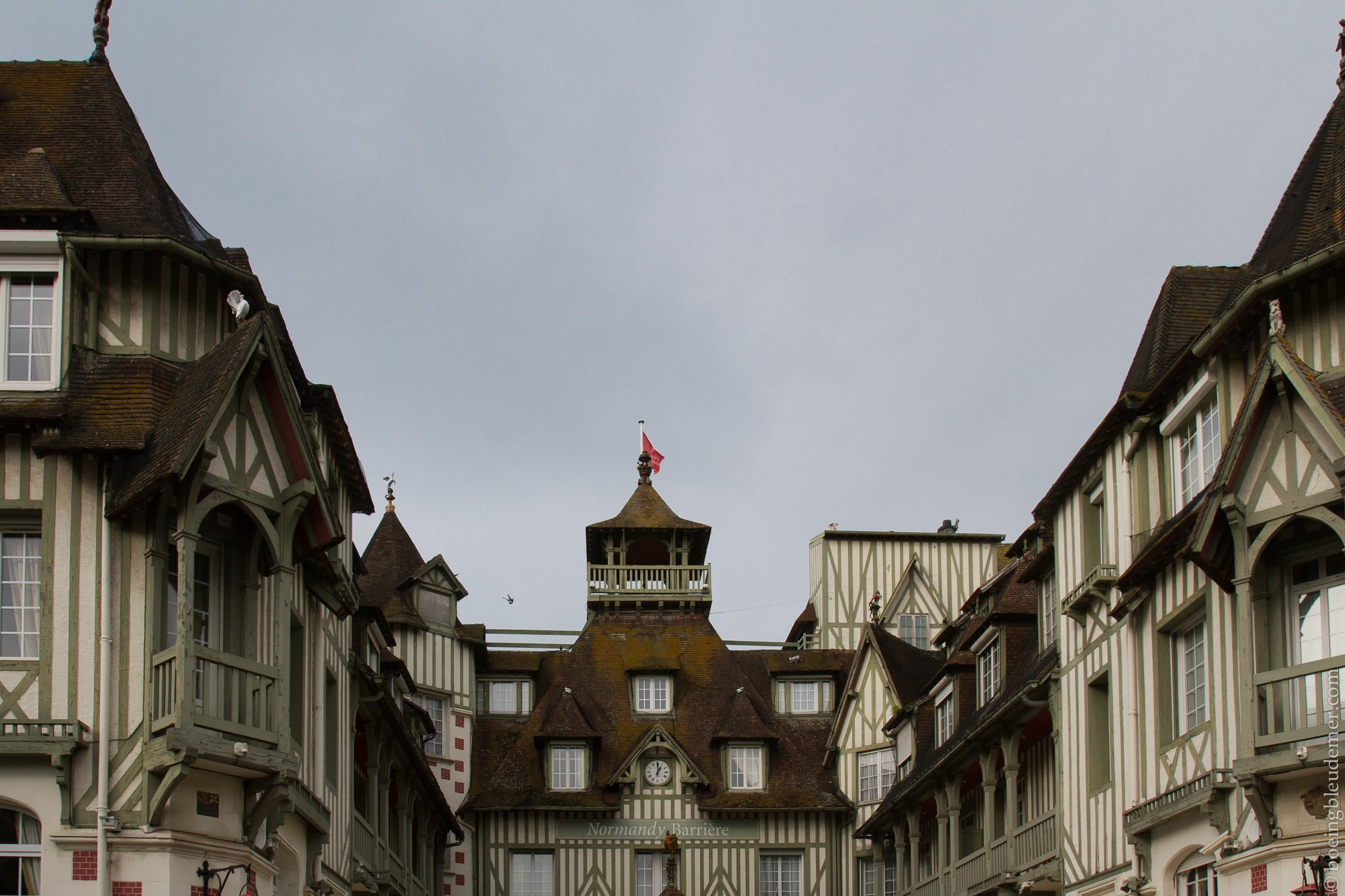 Un weekend à Deauville: Mairie
