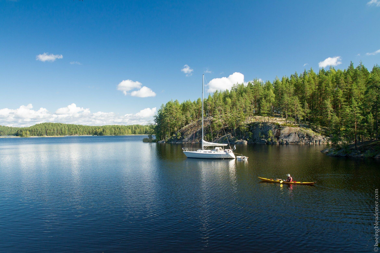 Le parc national de Linnansaari en Finlande