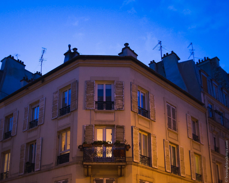 Tombée du jour, Paris