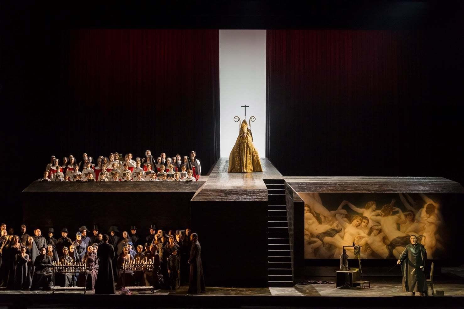 Tosca à l'Opéra de Paris