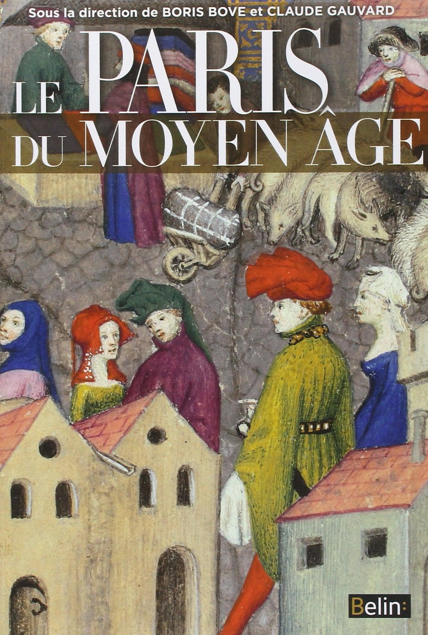 Livre Le Paris du Moyen Âge