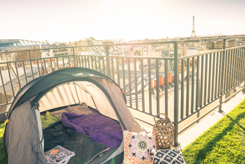 10 ans de la tente 2seconds: camping à Paris