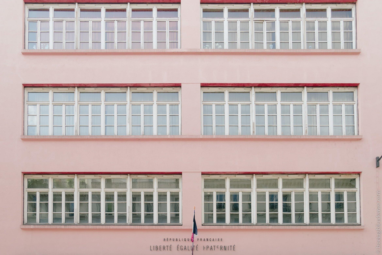 Lumix GM1-S: École primaire rose