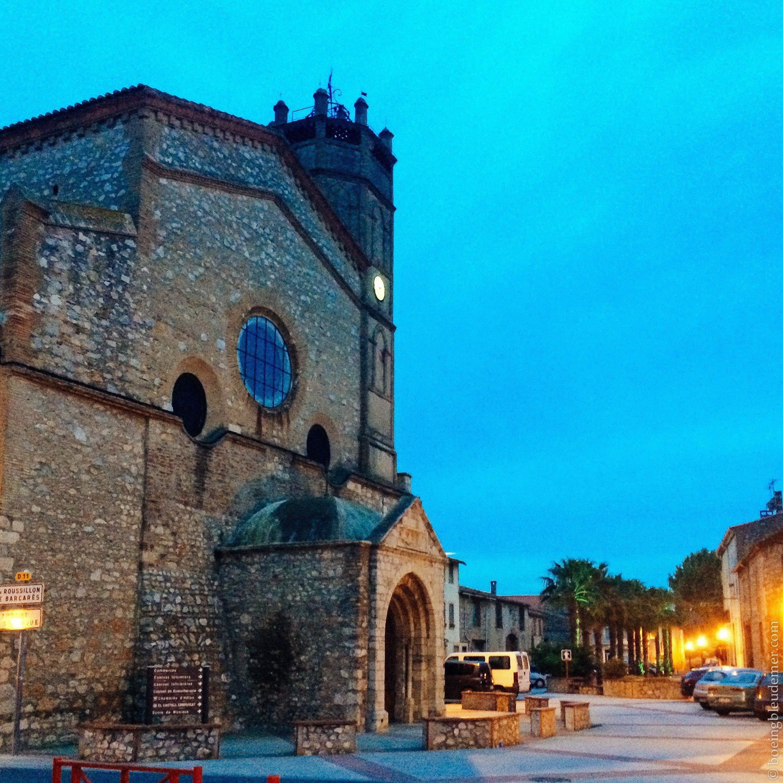 Pays Catalan : Église de Saint-Hippolyte