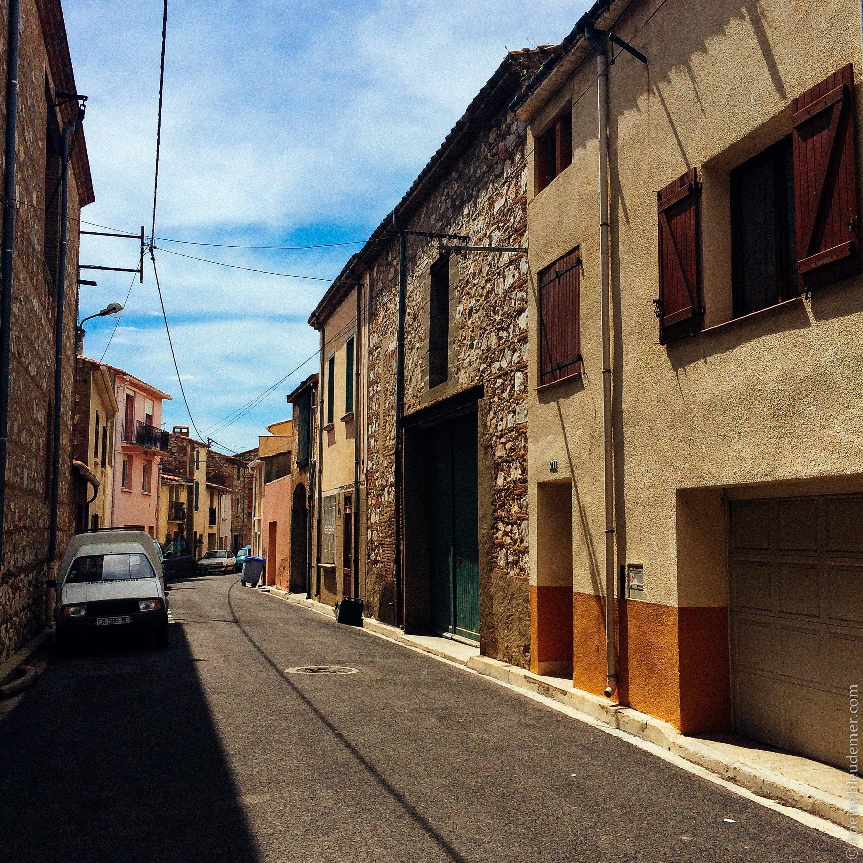 Pays Catalan : rues de village