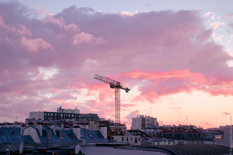 Lumix GM1-S: Coucher de soleil rosé