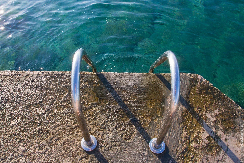 Eau bleue de la Mer Égée