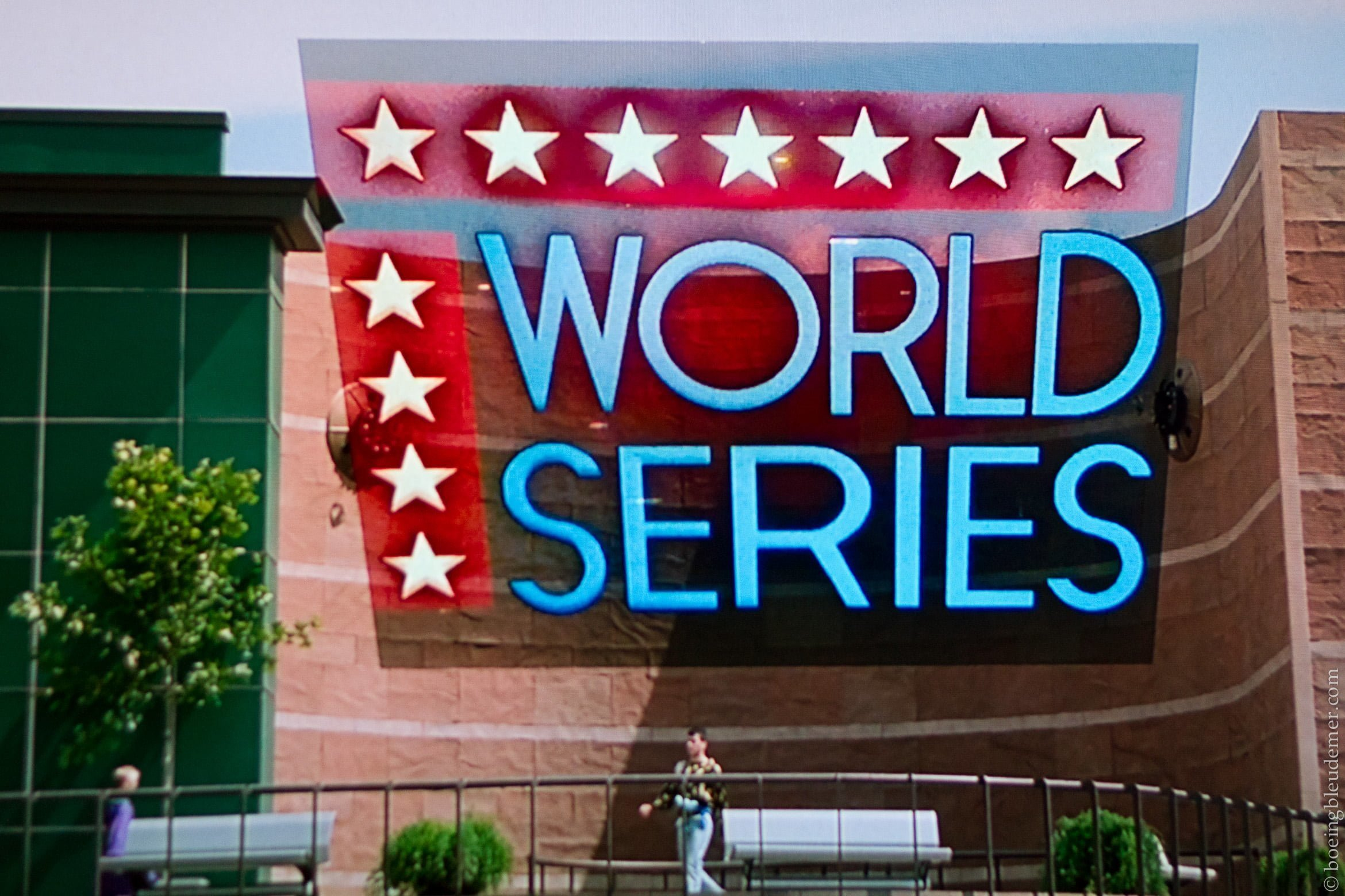 World Series Back to the Future II