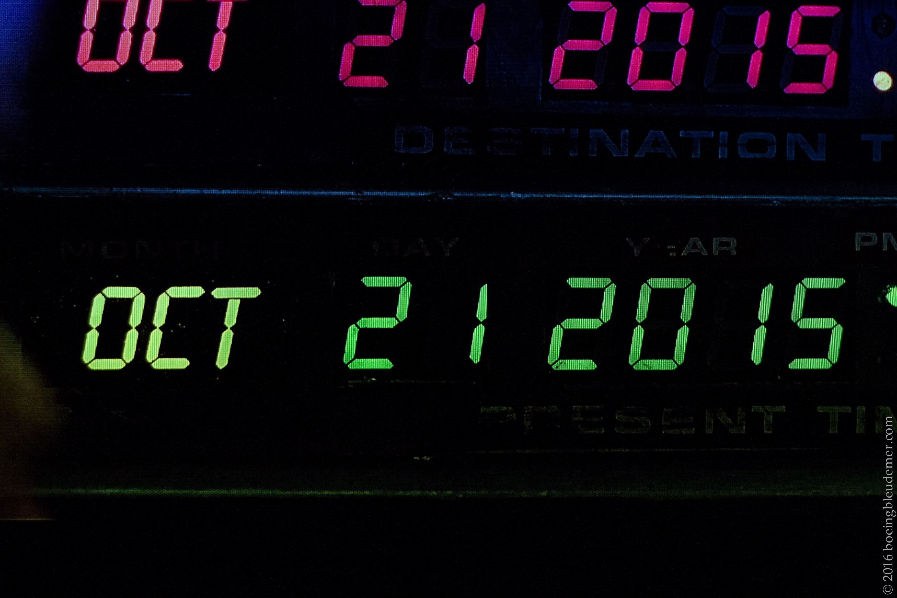 Back to the Future II: 21 octobre 2015