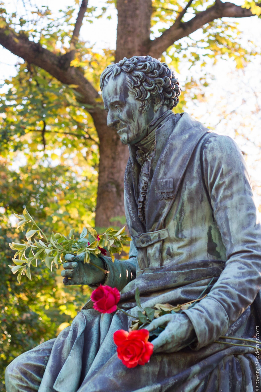 Bronze de Dominique Vivant Denon au Père Lachaise