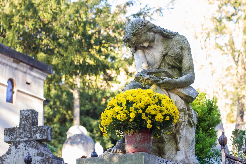 Tombe de Chopin au Père Lachaise