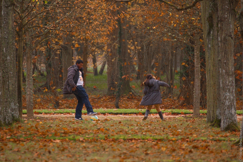 Scène d'automne au Parc de Rambuteau