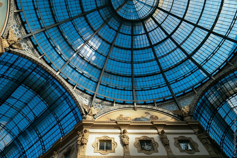 Un Week-end en amoureux à Milan: Dôme Galerie Vittorio Emanuele II