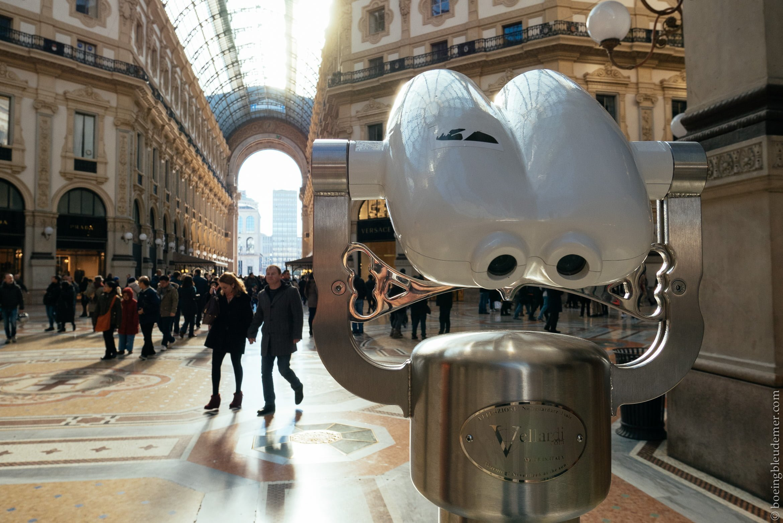 Un Week-end en amoureux à Milan: Galerie marchande vitrée