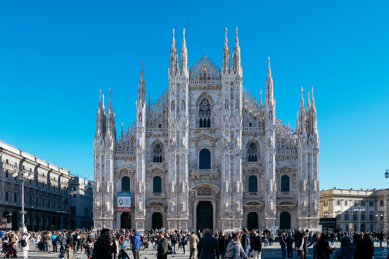 Un Week-end en amoureux à Milan: le Duomo chef d'oeuvre ghotique