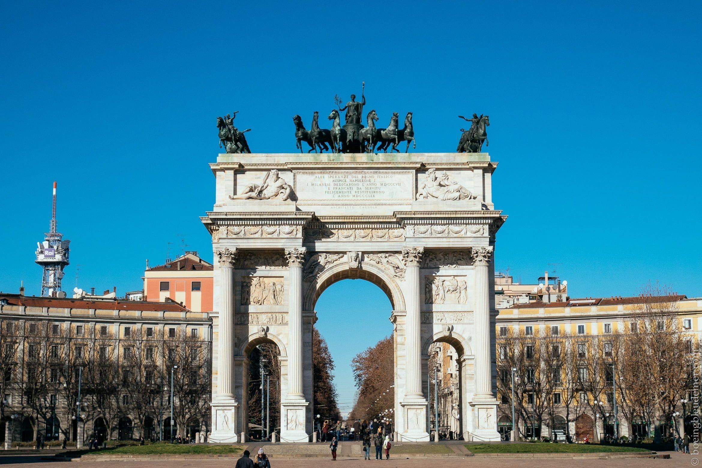 Week-en en amoureux à Milan: Arco della Pace