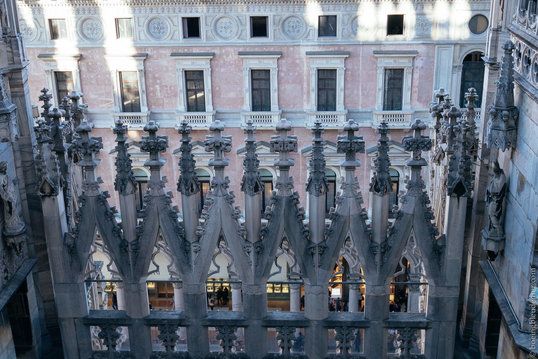 Un weekend en amoureux à Milan: Dentelle de marbre
