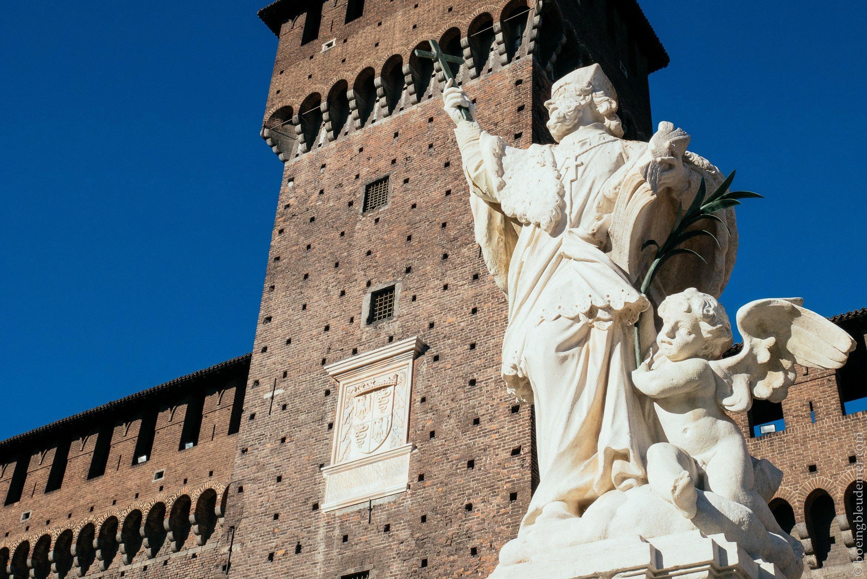 Week-en en amoureux à Milan: Le Chateau Sforzesco