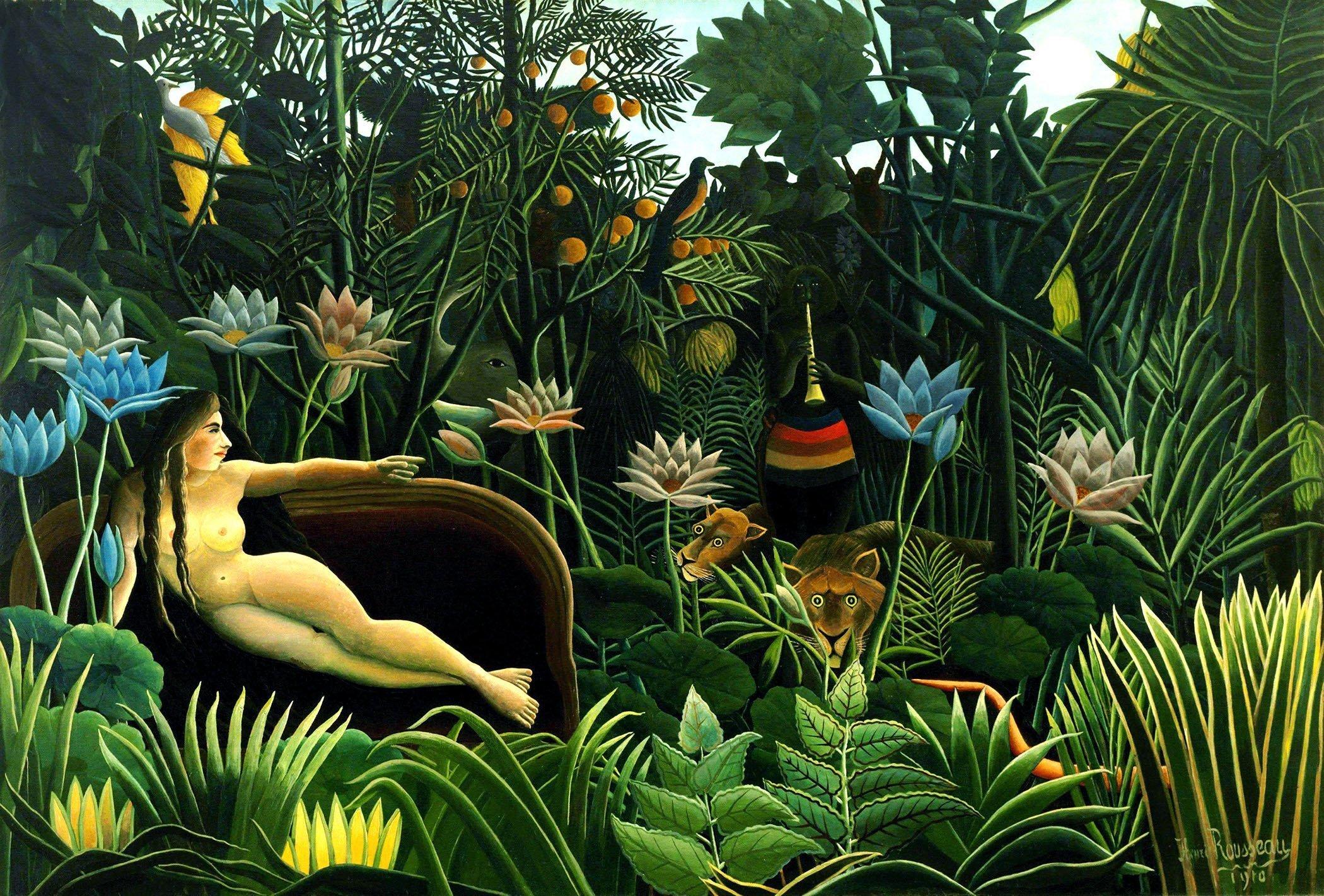 Exposition Le Douanier Rousseau, L'innocence archaïque au Musée d'Orsay