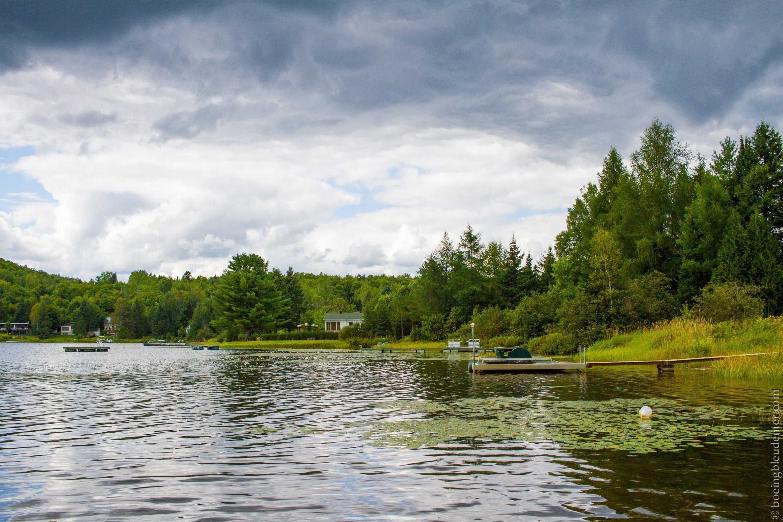 Lac Berthier au Québec