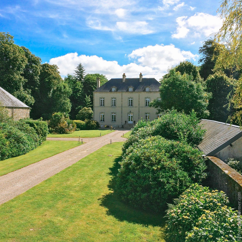 Château Le Pannellier à Brix dans le Cotentin