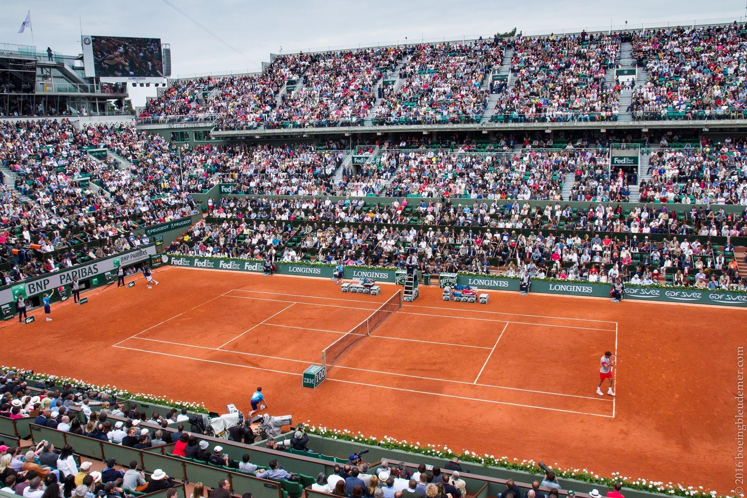 Roland Garros: court Philippe-Chatrier