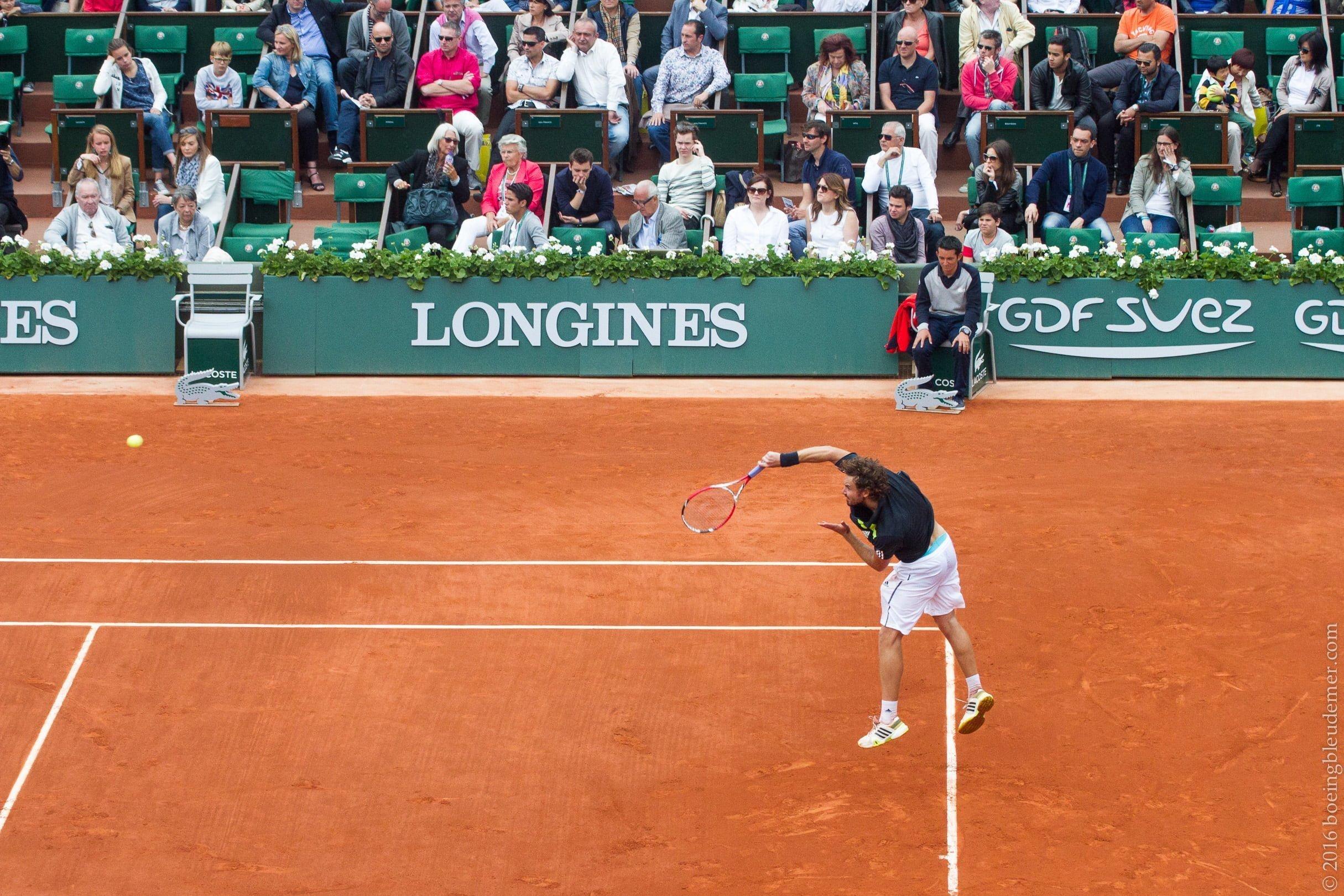 Roland Garros: Ernests Gulbis 2