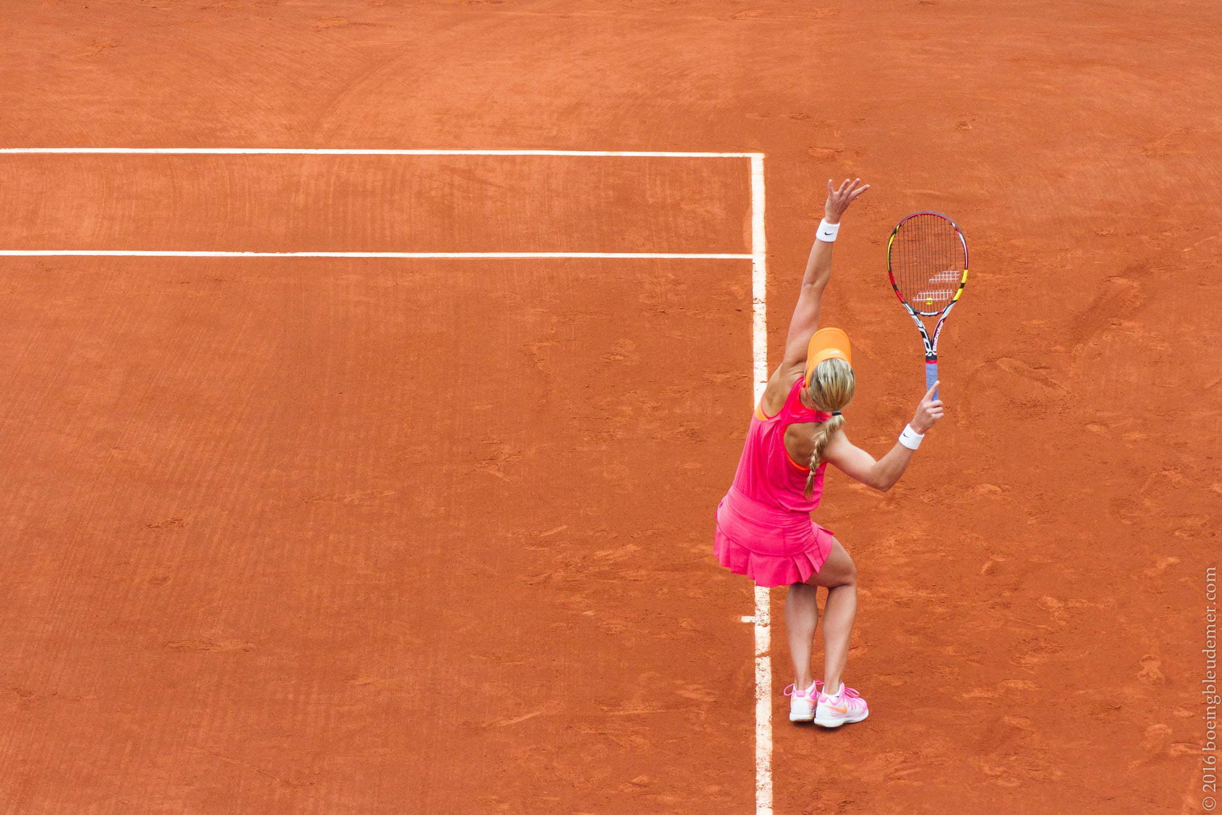 Roland Garros: Eugénie Bouchard 2