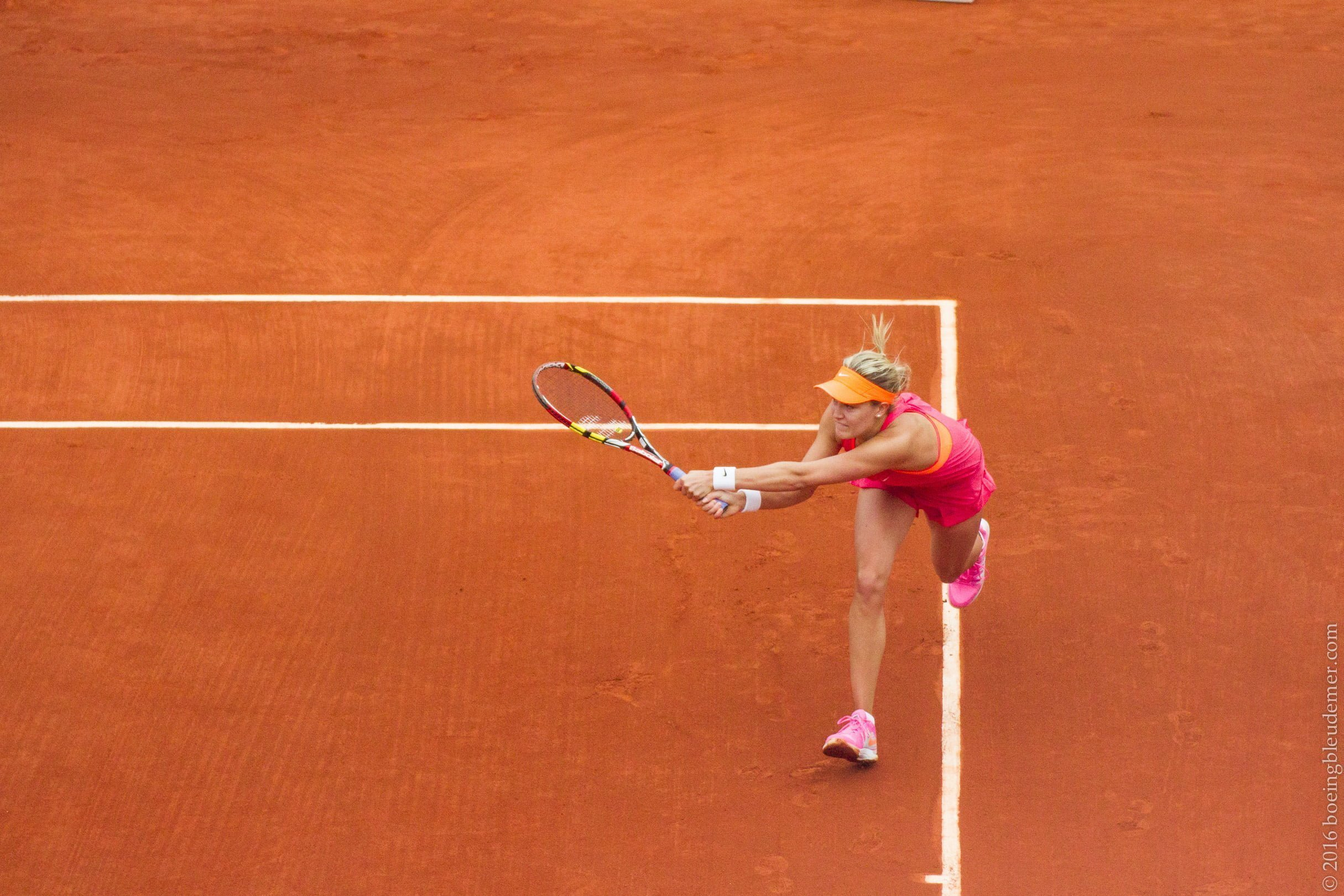 Roland Garros: Eugénie Bouchard