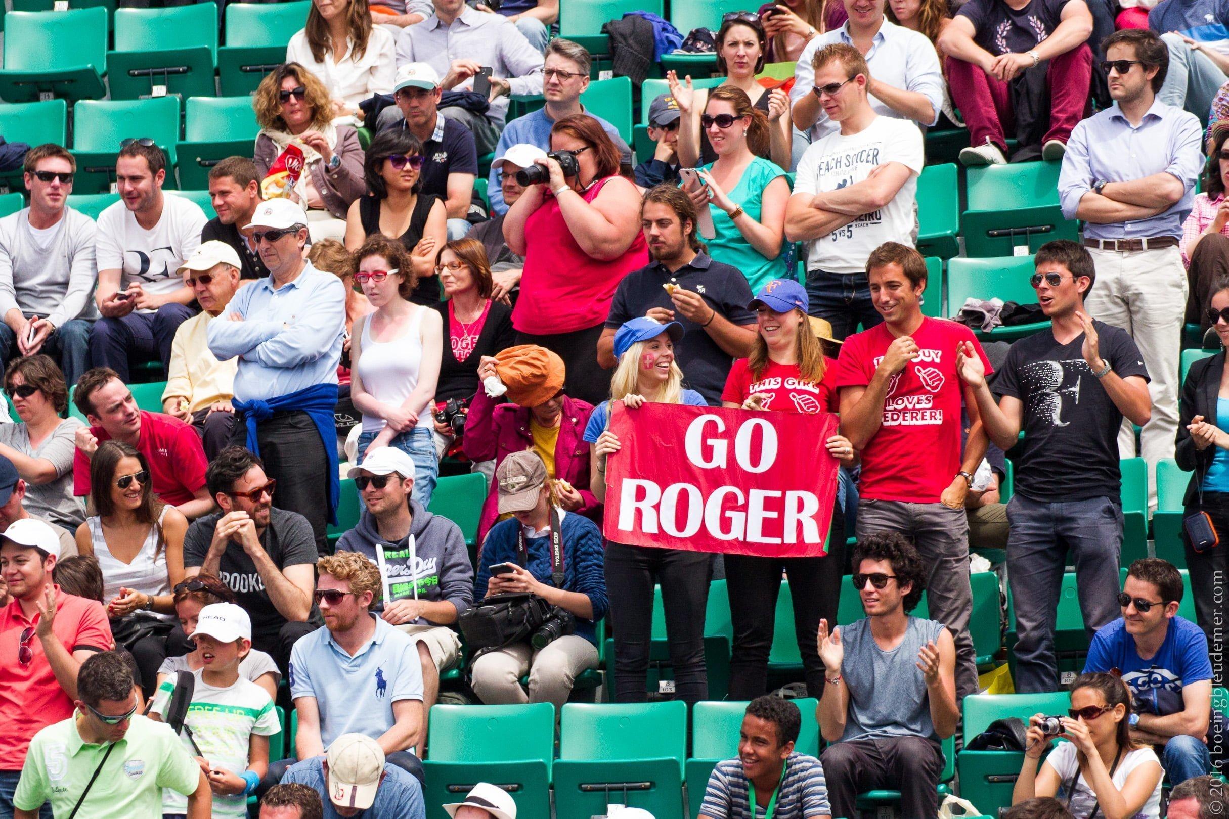 Roland Garros: Go Roger