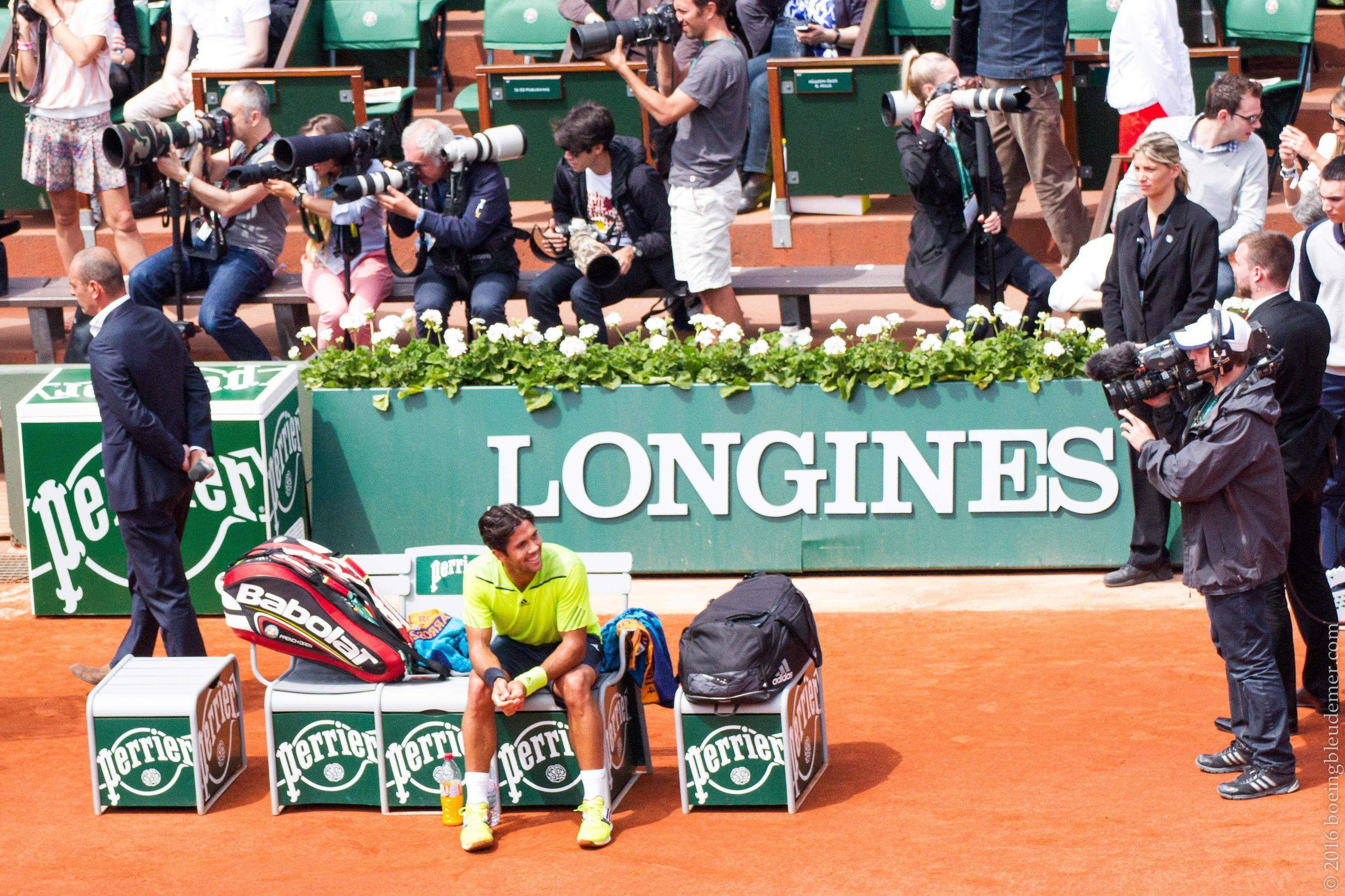 Roland Garros: Joueur de Tennis