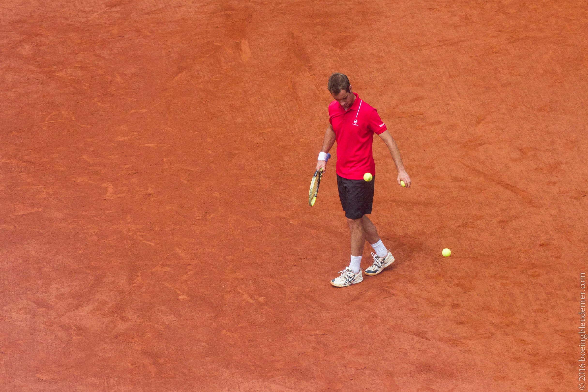 Roland Garros: Richard Gasquet
