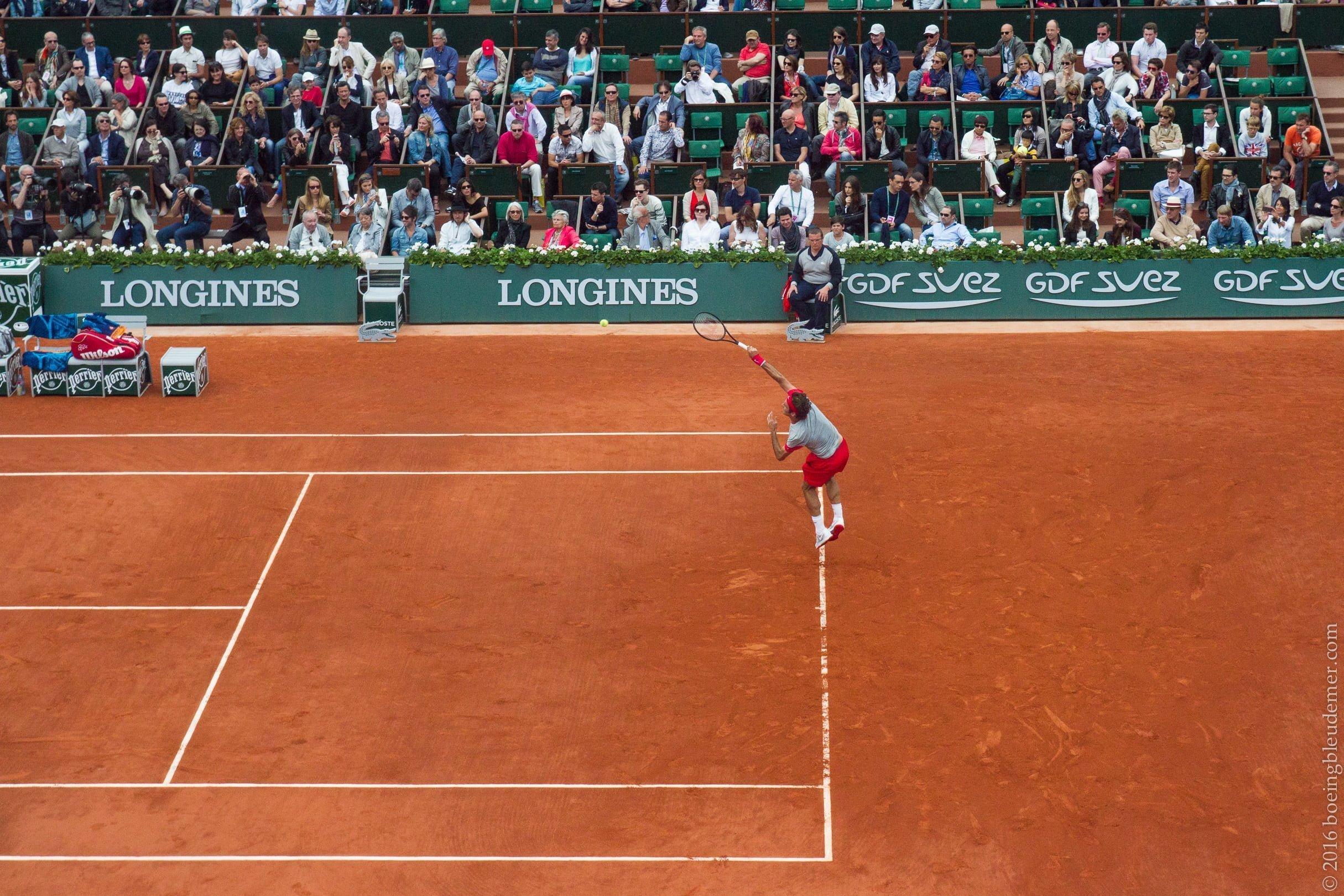 Roland Garros: Roger Federer   2