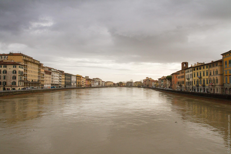 Un week-end à Pise: fleuve Arno