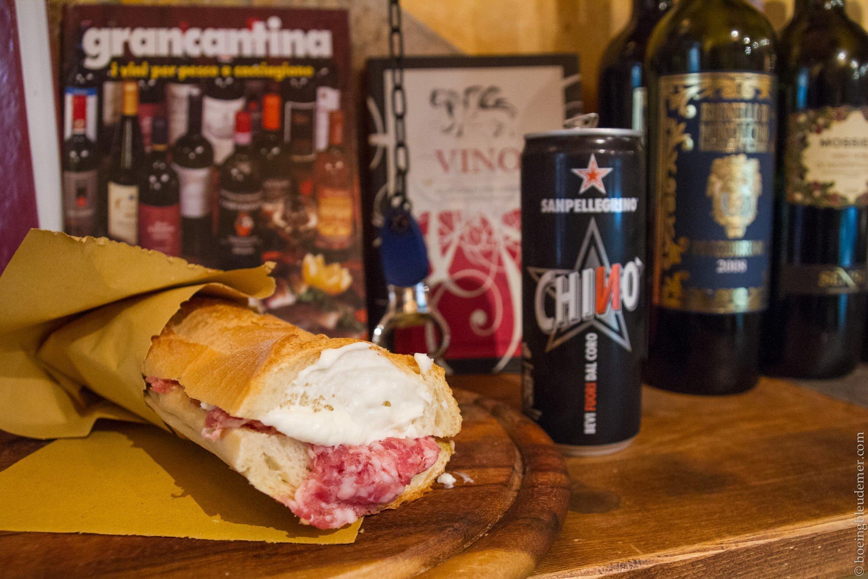 Un week-end à Pise: Manger à l'Ostellino