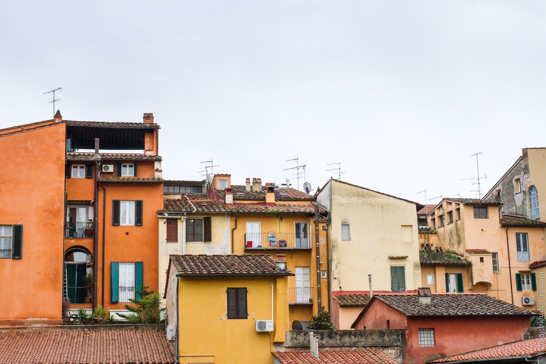 Un week-end à Pise: paysage italien