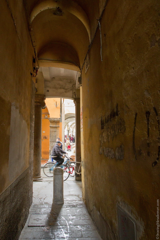 Un week-end à Pise: ruelles italiennes