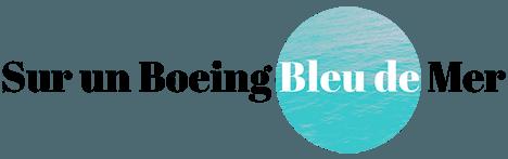 Sur un Boeing Bleu de Mer - Québécoise en escale à Paris