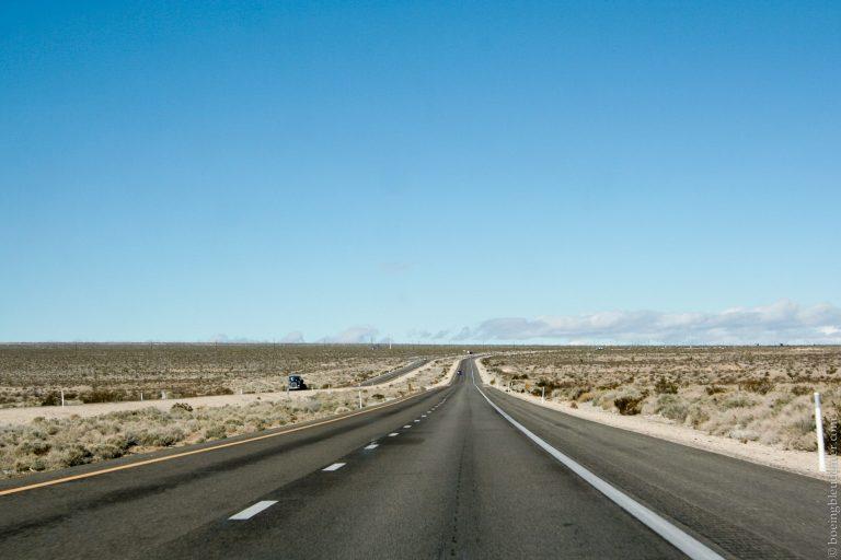 Folle Odyssée J-1 - route désert USA