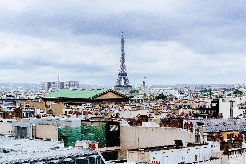 Plaisir gratuit aux Galeries Lafayette: la vue