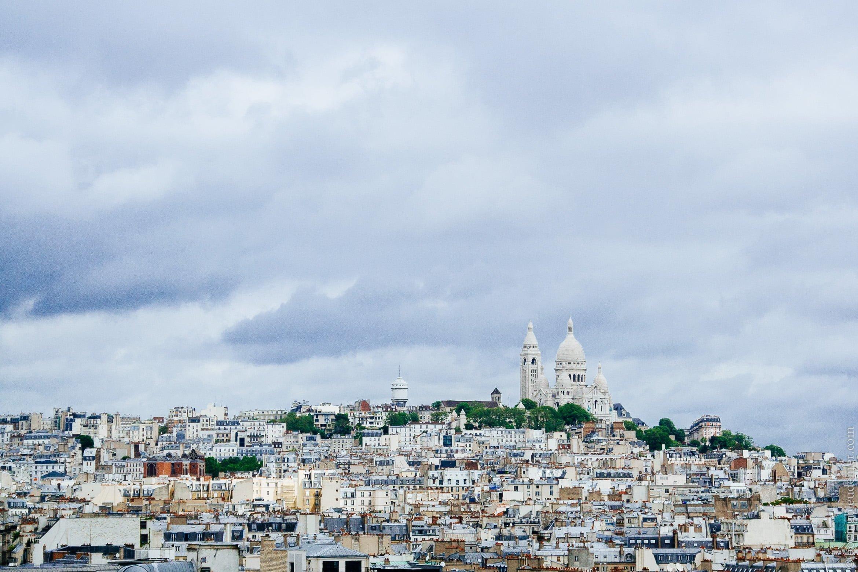 Plaisir gratuit aux Galeries Lafayette: vue sur le Sacré-Coeur