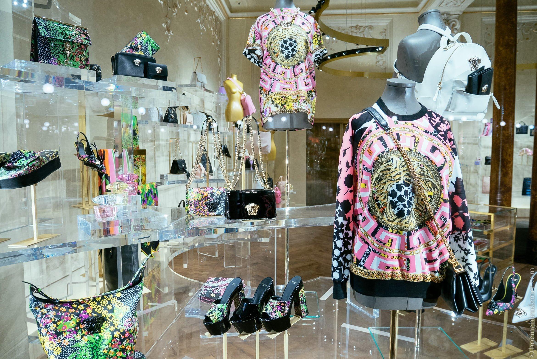 Week-end en amoureux à Milan: Versace