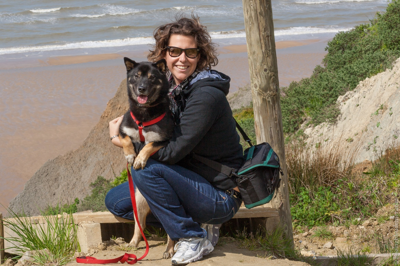 Week-end de camping en Normandie : Akira et Cynthia