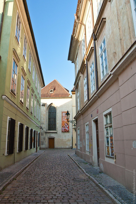 Petites rues du quartier juif de Prague